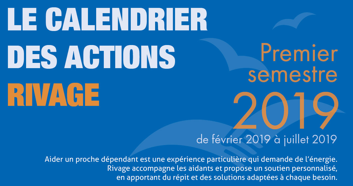 Calendriers des actions RIVAGE