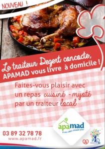 Pour rehausser le goût du quotidien, APAMAD et Herrscher, pour des repas cuisinés-mijotés, à domicile